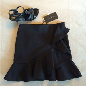 Black Zara skirt.  Tags. Host Pick 1/12/16!