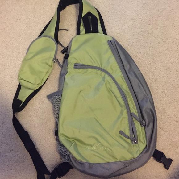 Eddie Bauer Bags Sling Backpack Poshmark