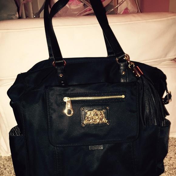 Juicy Couture Handbags - Authentic Juicy Couture Diaper Bag   PRICE DROP   d3d0556f8429