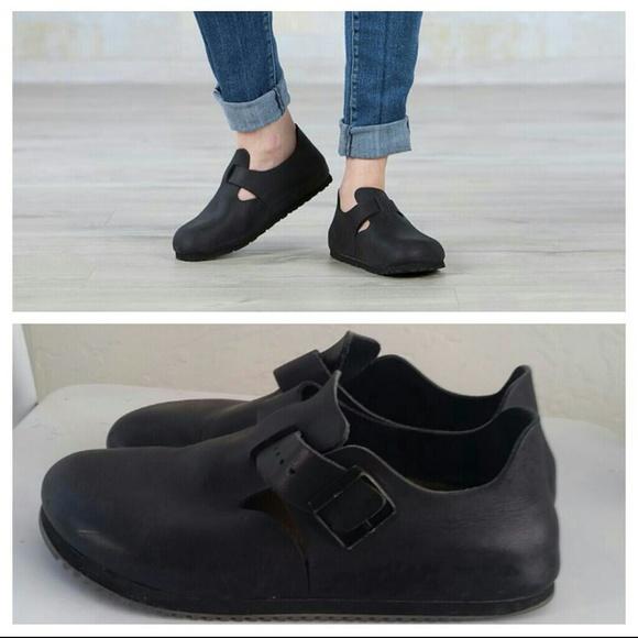 Birkenstock Shoes Womens London Shoe Black Poshmark