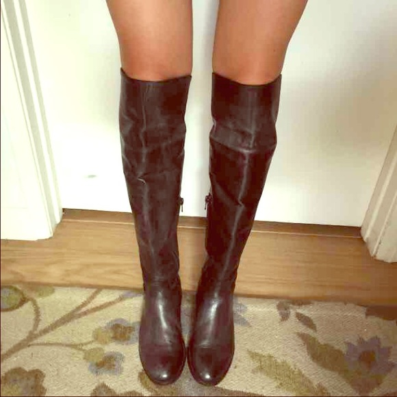 50% off Charles David Shoes - Italian Leather Over the Knee Boots