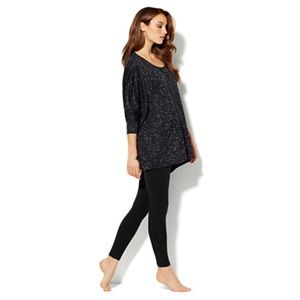 New York & Company Tops - New York & Company Spaced Dyed Dolman Pullover