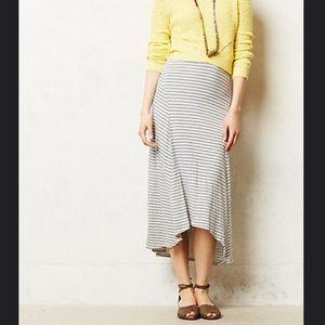 Swing step maxi skirt