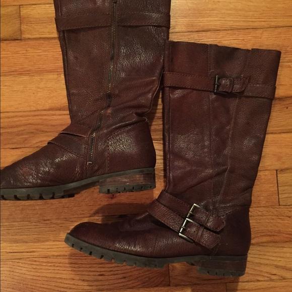ac1178f7e625 Enzo Angiolini Boots - Enzo Angiolini Brown Boots