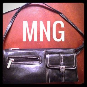 Little black Mango purse