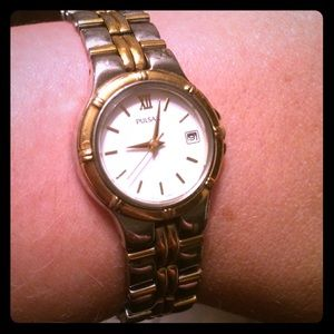 Pulsar Jewelry - Pulsar two toned watch