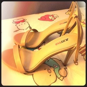 Size 8 nice heels from just fab!