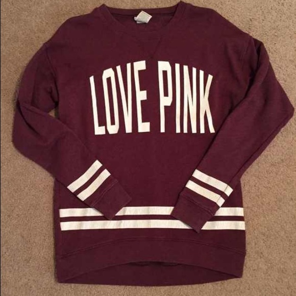 14% off PINK Victoria's Secret Sweaters - VS love pink sweatshirt ...