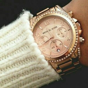 IN▪ SEARCH ▪OF  Rose Gold  Michael Kors watch
