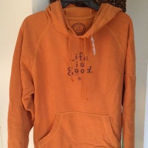 4f92e11ec80 Life is Good Tops - Brand new w tag Life is Good hoodie