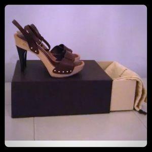 SOLD ELSE WHERE Louis Vuitton Brown Sandals