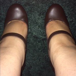Additional pictures of brown Mary Janes