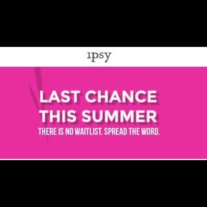 Skip the wait list for Ipsy.