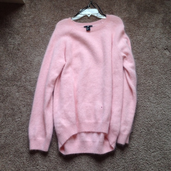 Hm Sweaters Lana Del Rey For Hm Pink Sweater Poshmark