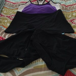 Jag plus size bathing suit XXL with two bottoms