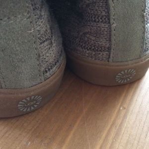 55d86ca26b2c UGG Shoes - Ugg Rylan Knit Slippers in Heathered Gray