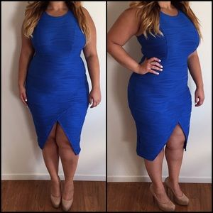 Dresses & Skirts - Sexy Blue BodyCon Dress