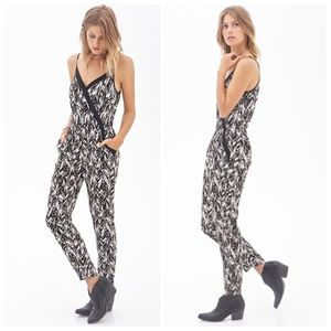 Forever 21 Other - Chevron print jumpsuit