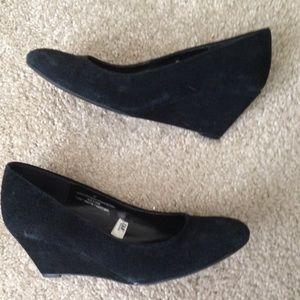 Merona Shoes - Black wedges