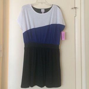 Black / Blue / White Lola Dress