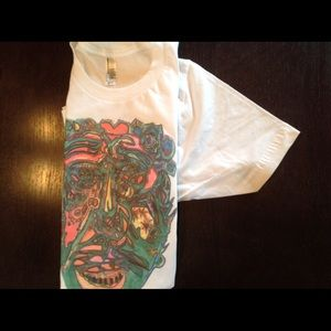 American Apparel Tops - Mayan maze t shirt