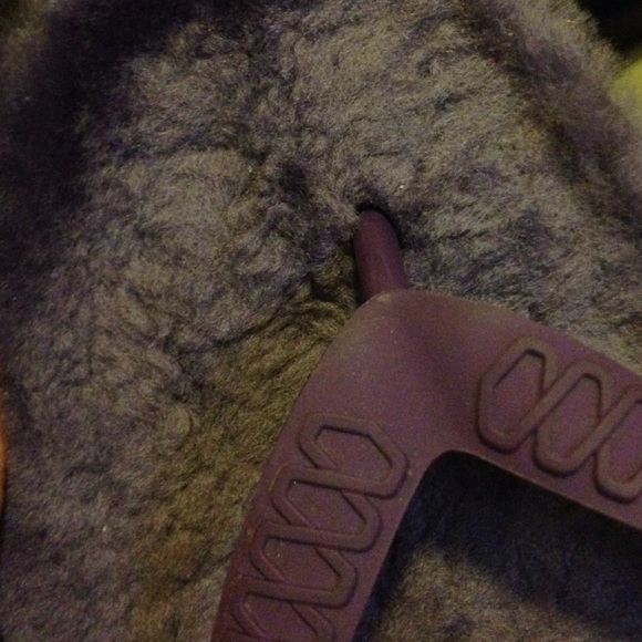 80 Off Ugg Shoes - Purple Ugg Fuzzy Flip Flops  From -6886