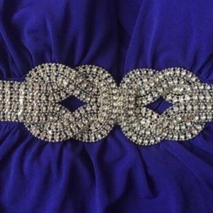 XOXO Dresses & Skirts - Formal Royal Blue & Silver Dress