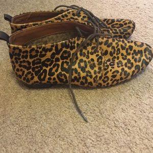Leopard booties!