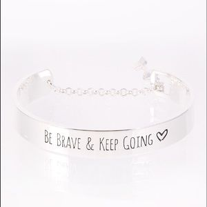 Jewelry - 🍉 Be Brave and Keep Going Bracelet