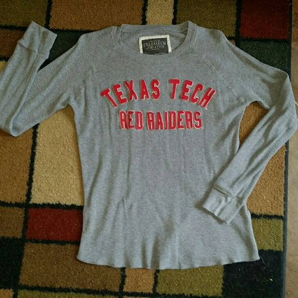 Texas Tech Red Raiders Long Sleeved Thermal 845f6a26e