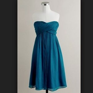 NWT J. Crew Taryn Dress (Matisse Blue)