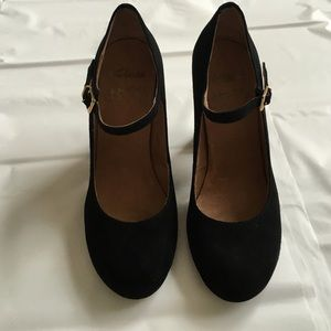 Janes Uk Suede Mary Black Shoes Boutique Clarks Poshmark 5 Eu387 qwHaOa