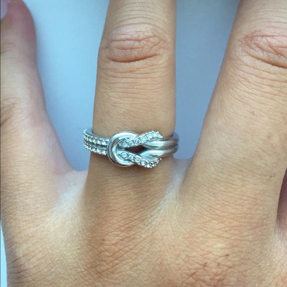 59f09299f14cb Swarovski Voile Ring (Silver)