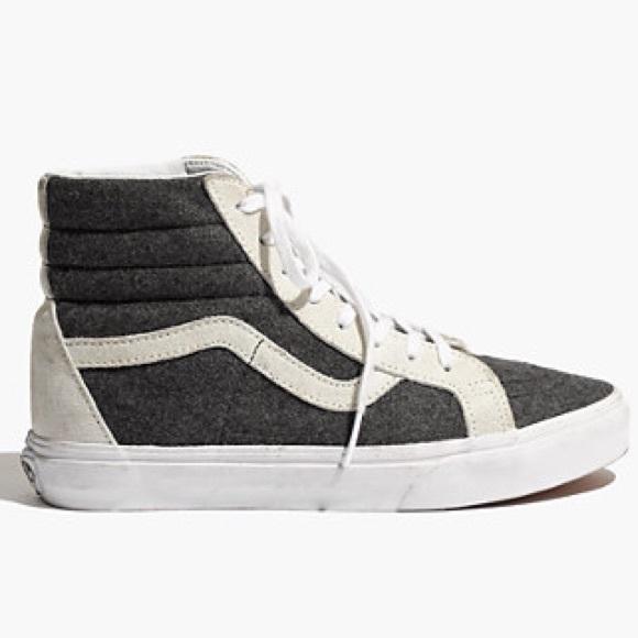 vans shoes madewell sk8 high poshmark