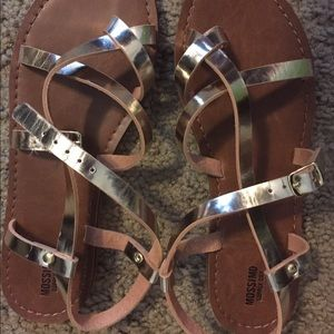 Mossimo Supply Co Shoes - New In Box Metallic Gold Gladiator Sandals