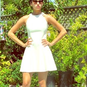 Rachel by Rachel Roy perforated style dress size 0