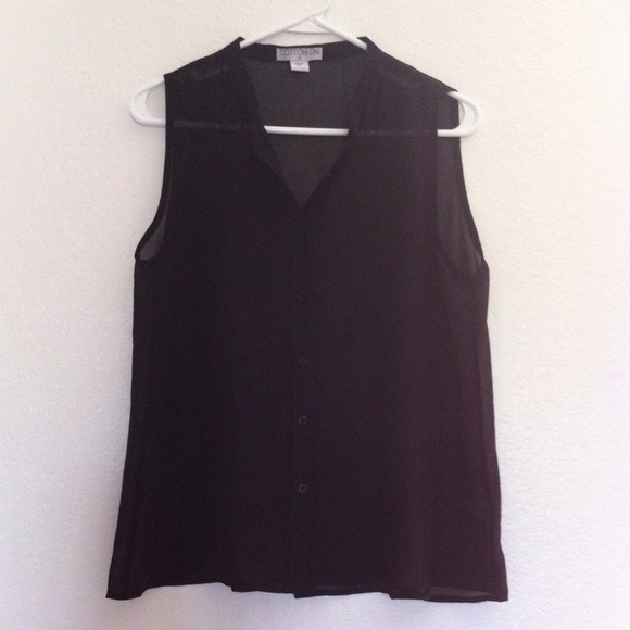 Sleeveless Blouse Cotton On 25