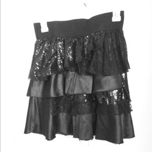 Black skirt size S forever 21