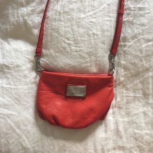Marc by Marc Jacobs red crossbody purse