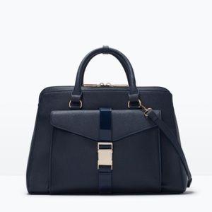 Zara office city bag