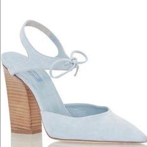 Dee Keller | stacked heel pumps