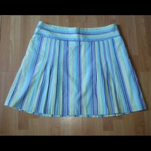 J.Crew striped cotton skirt. NWOT