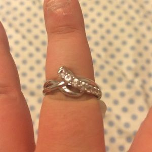 Kay Jewelers Jewelry - White sapphire 6 3/4 ring