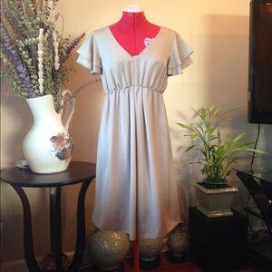 Angelic satin dress