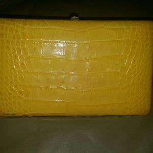 Abas Handbags - Abas frame clutch wallet