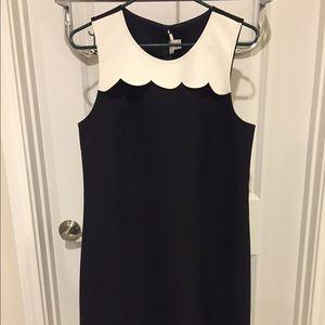 Factory Scalloped Bodice Dress