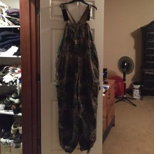 Camouflage Overalls Mossy Oak