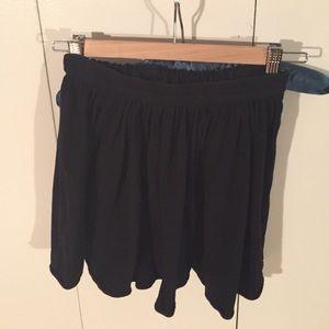 American Apparel stretchy circle skirt