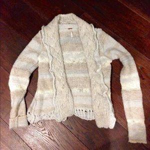 Free people winter knit sweater size S