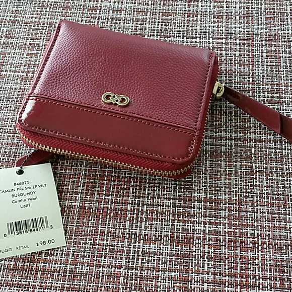 47fe65e10ae8 Brand new cole haan burgundy wallet